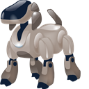 pooch, robot, bowwow, doggie, trigger, automaton, hound, automatic machine, detent, machine gun, At, dog, pawl, doggy, machine, Automatic Black icon