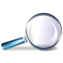 magnifying glass, reading-glass, Loupe, zoom, Shadow, Magnifier, Bull's-eye Black icon