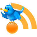 twitter, Social, News, sync, blog, Rss, subscribe SandyBrown icon