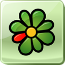 media, square, Service, Logo, Centralized, social media, Messaging, instant, Social, icq, Messenger PaleGoldenrod icon