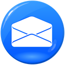 read, open mail, open, envelope, Letter, Email, mail, e-mail, Message, send DodgerBlue icon