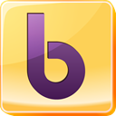 yahoo, network, square, Logo, B, Social, social media, Buzz Khaki icon