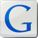 google, search engine, Logo Gainsboro icon