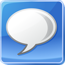 light, bulb, Info, Comments, talk, about, Message, Chat, google, Comment, Bubble, Idea, speech, tip, Information, hint CornflowerBlue icon