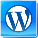 Blue, media, Wordpress, square, Logo, social media, Social DodgerBlue icon