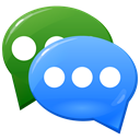 Comments, Communication, sms, Message, social media, Talking, Social, Bubbles, voice, forum, Chat, messages, media, Comment, Bubble, speech, Blogging, talk DodgerBlue icon
