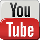 youtube, Tv, play, television, video, videohosting Gainsboro icon