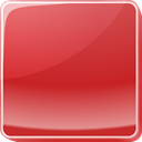 button, red IndianRed icon