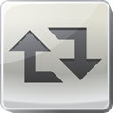retweet, Arrow, square, Social, Copy, Duplicate Gainsboro icon