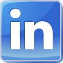 Linked in, media, social media, square, social network, Social, professional network, Logo, Linkedin RoyalBlue icon