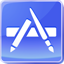 Apple, itunes, store, Appstore, mac, App, webshop, Shop Icon