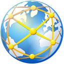 network, Connection, internet, Connections, planet, Communication, web, globe, global, world, earth CornflowerBlue icon