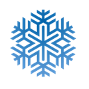 winter, cristal, frozen, meteorology, weather, snowflake, freezer, Ice, freeze, Cold, crhistmas, forecast, Snow Black icon