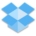 dropbox CornflowerBlue icon