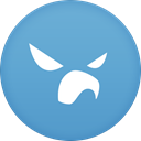 for, Falcon, twitter, pro CornflowerBlue icon