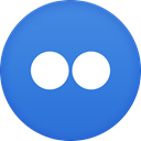 flickr RoyalBlue icon