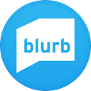 Blurb DodgerBlue icon