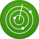 radar ForestGreen icon