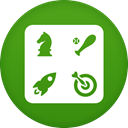 Gamecenter ForestGreen icon