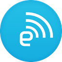 Engadget DeepSkyBlue icon