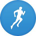 Runkeeper SteelBlue icon