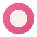 Orkut PaleVioletRed icon