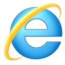 Explorer, microsoft, internet Black icon