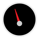 appicns, Dashboard Black icon