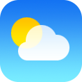 weather DodgerBlue icon