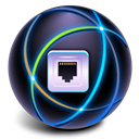 Connect, web, internet, Connection Black icon