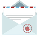 mail Gainsboro icon