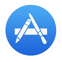 store, App RoyalBlue icon