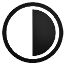 Contarst, mesure Black icon