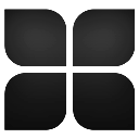 stack, Programm Black icon