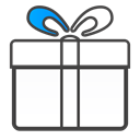 gift DarkSlateGray icon