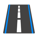 Road DarkSlateGray icon