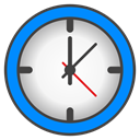 time DodgerBlue icon