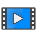 video DodgerBlue icon