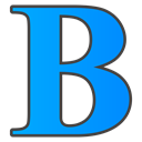 Bold DodgerBlue icon