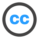 Creativecommons DarkSlateGray icon