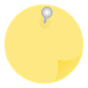 stickies Khaki icon