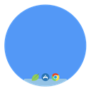 Desktop CornflowerBlue icon