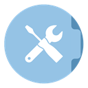 Utilities SkyBlue icon