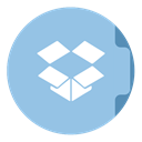 dropbox SkyBlue icon