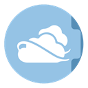 skydrive SkyBlue icon