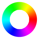 Colorwheel Black icon