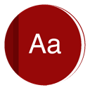 dictionary DarkRed icon