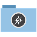 Folder, site, appicns SkyBlue icon