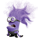 minion, evil DarkGray icon
