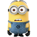 Angry, minion Khaki icon